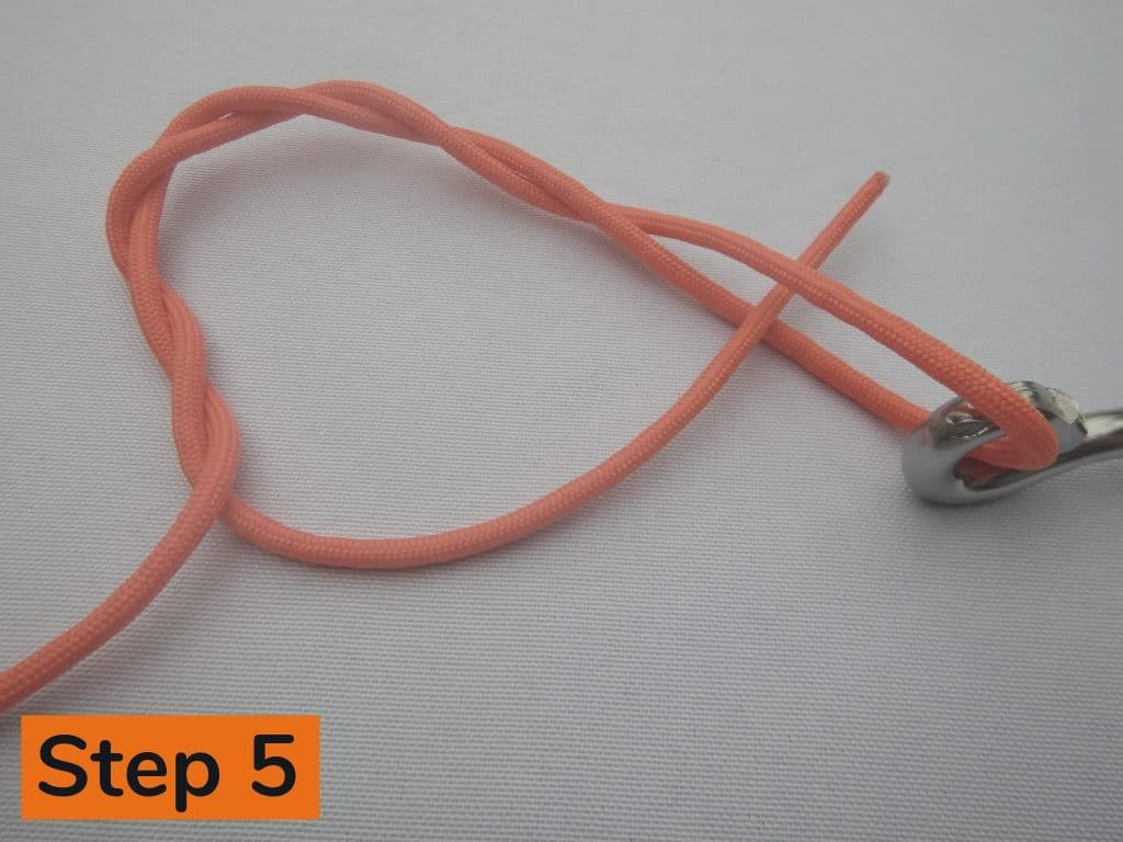 Clinch Knot Step 5