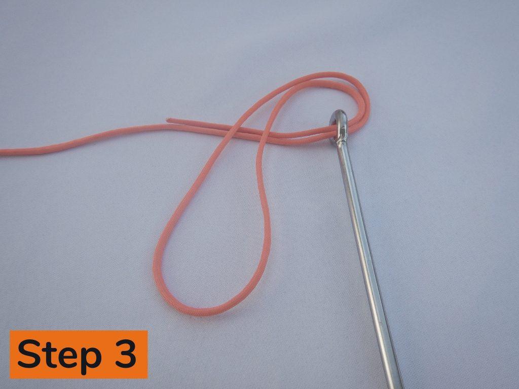 Palomar Knot Step 3