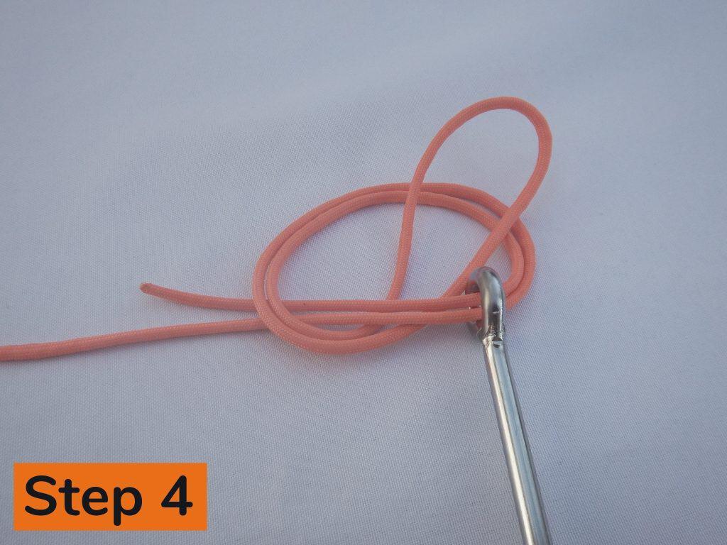 Palomar Knot Step 4
