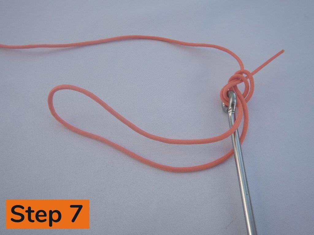 Palomar Knot Step 7