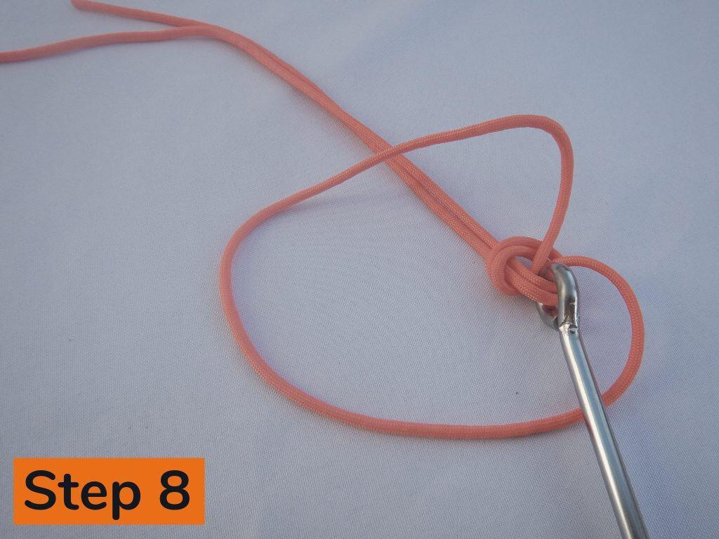 Palomar Knot Step 8