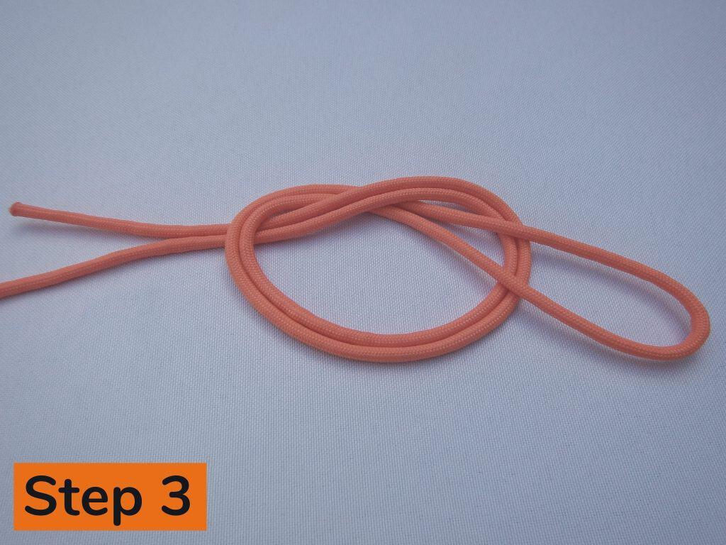Surgeon's End Knot Step 3