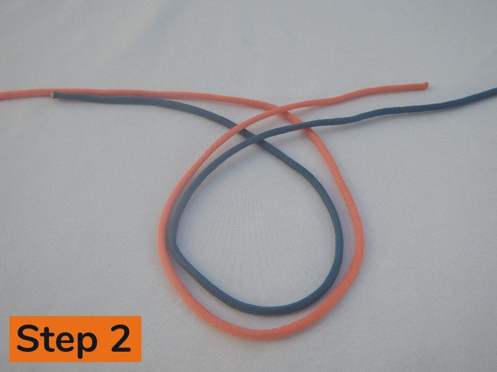 Surgeons Knot Step 2