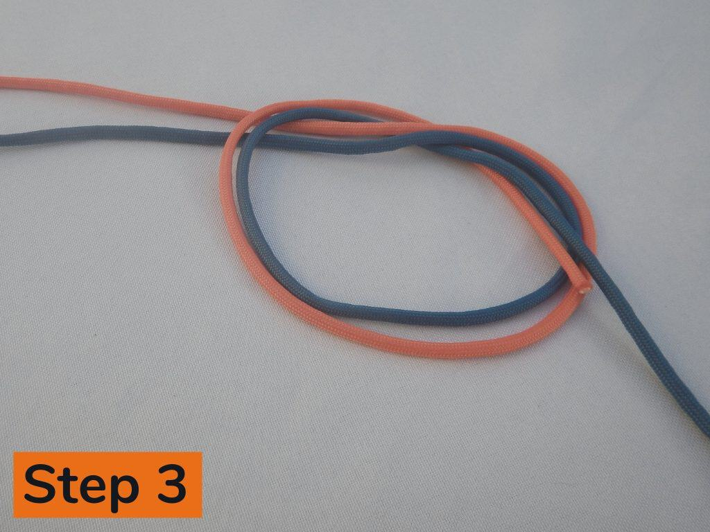 Surgeons Knot Step 3