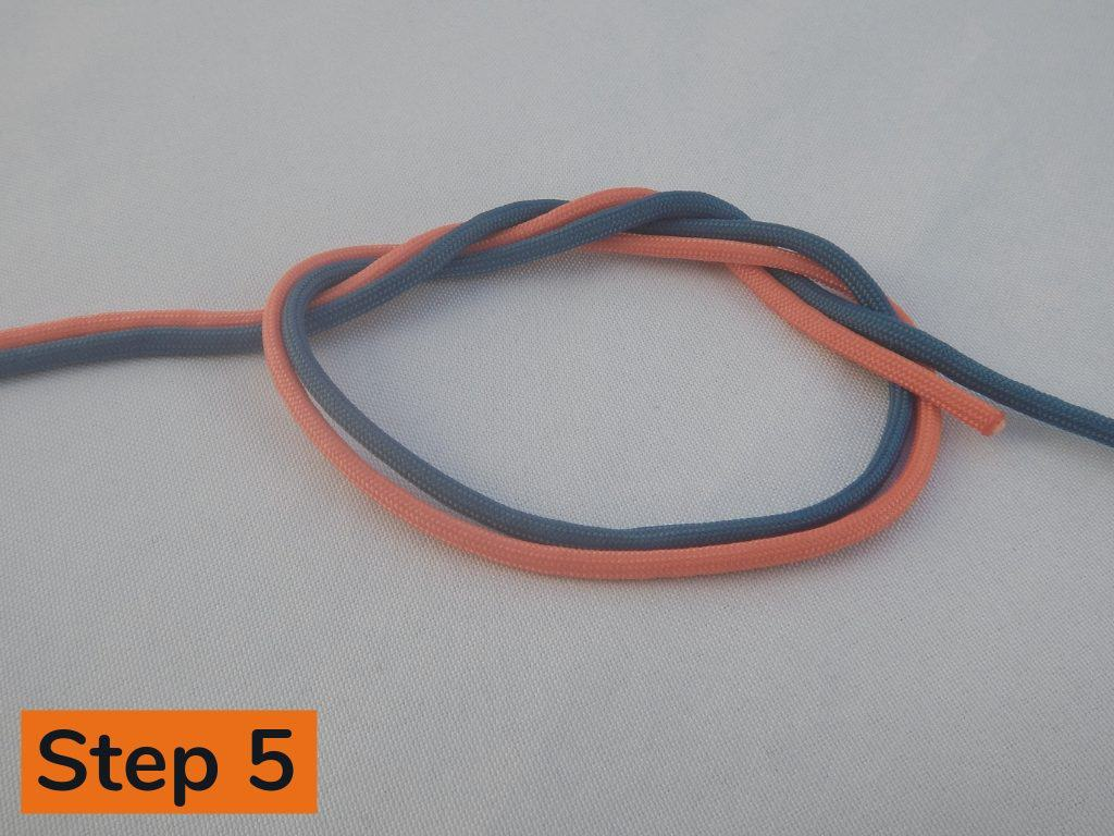 Surgeons Knot Step 5